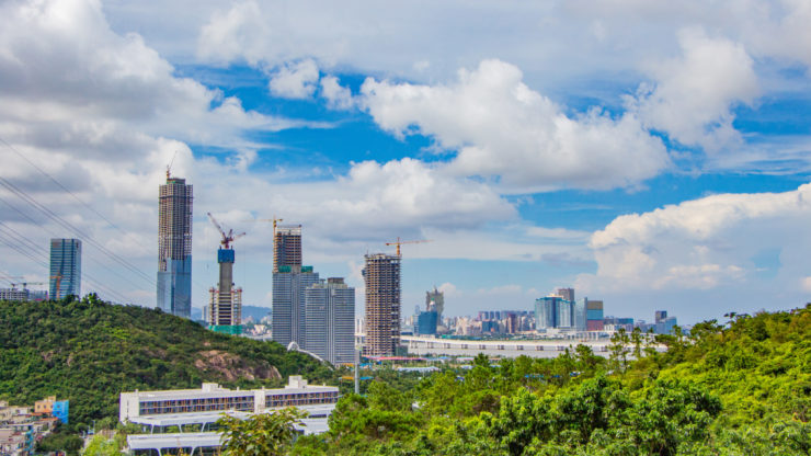 The city of HengQin is the first city-level multiple energy supply system in South China, integrating electricity, district cooling with hot water as a tri-generation system, an approach designed in part by UNEP DTU Partnership experts. Shutterstock: HelloRF Zcool