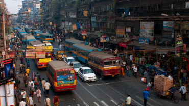 India traffic. Credit Shutterstock/Radiokafka