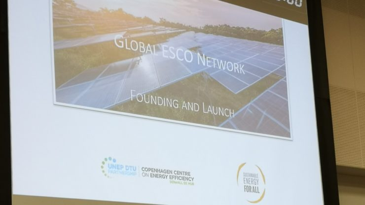 Launch of the new Global ESCO Network